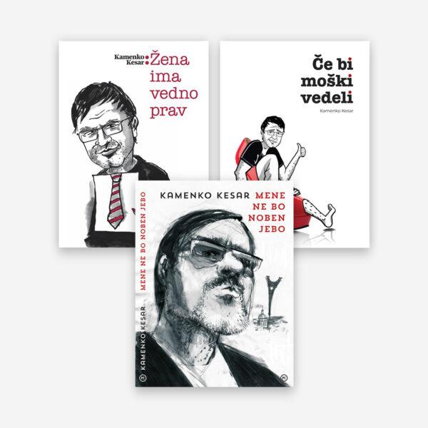 Paket treh knjig - Kamenko Kesar