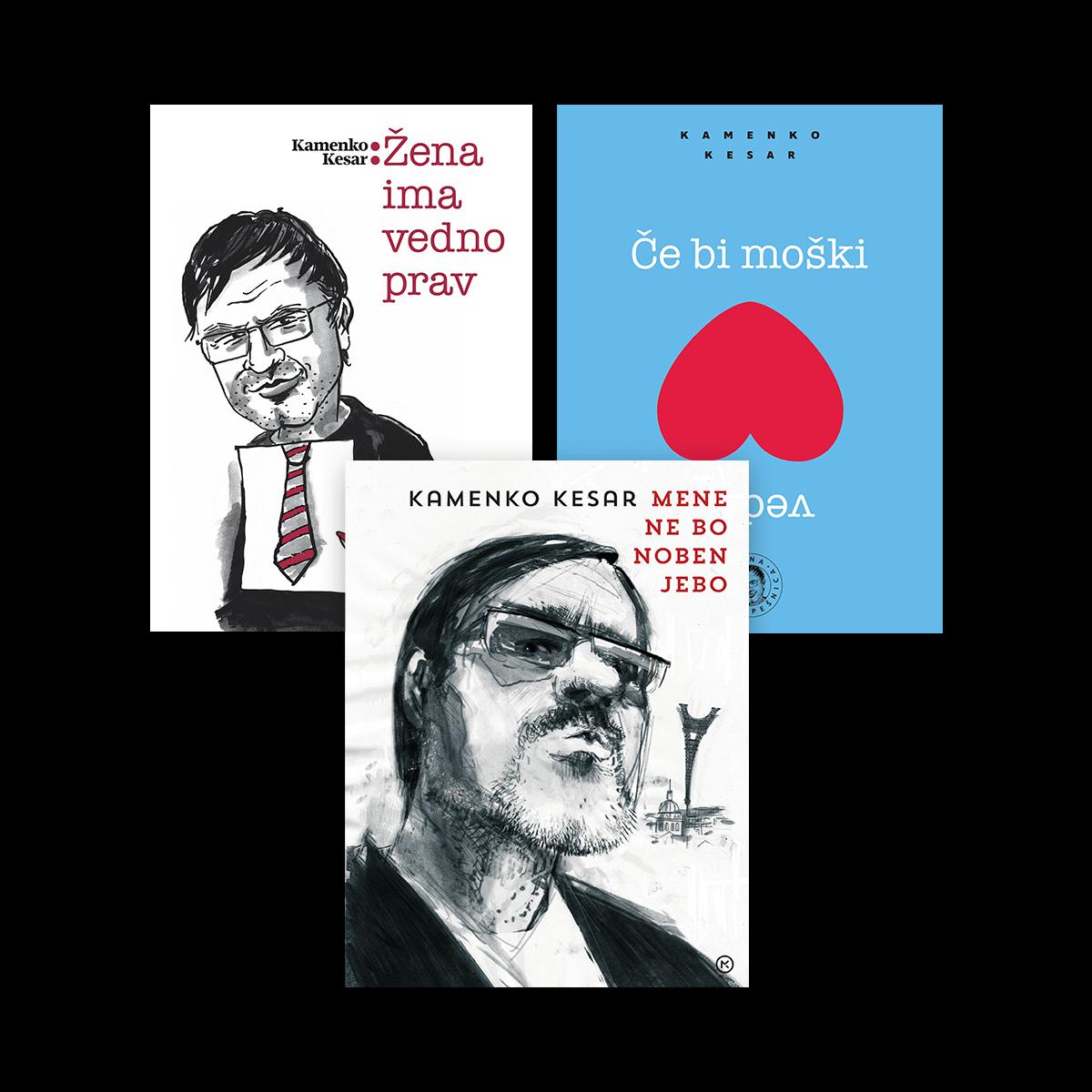 Kamenko Kesdar - Paket knjig